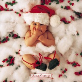 Baby Christmas Wallpaper