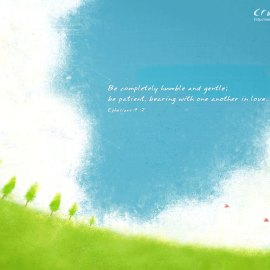 Be Completely Humble Wallpaper