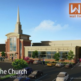 Be the church – building Wallpaper