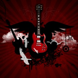 Beautiful Guitar Wallpaper