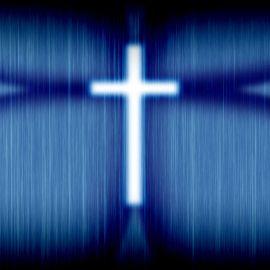 Blue Cross Wallpaper