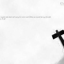 Carry my cross Wallpaper