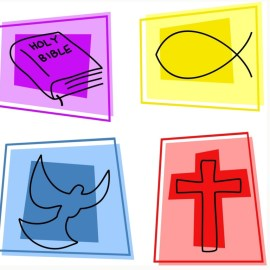 Christian Symbols Wallpaper