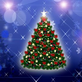 Christmas – A Tree Wallpaper