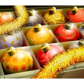 Christmas – Balls Wallpaper