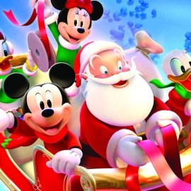 Christmas – Disney Wallpaper