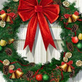 Christmas – Front Door Wallpaper