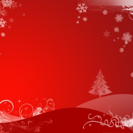 Christmas – Red Wallpaper