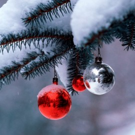 Christmas – Snow Wallpaper