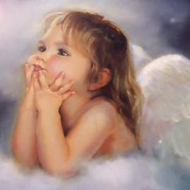 Christmas Angel – Child Wallpaper