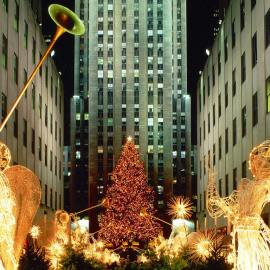 Christmas Angel – New York Wallpaper