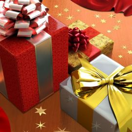 Christmas Gift – Cute Wallpaper