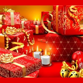 Christmas Gift – So many! Wallpaper