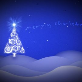 Christmas Tree – Art Wallpaper