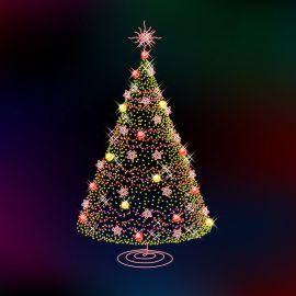 Christmas Tree – Lights Wallpaper