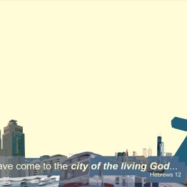City of the living God Wallpaper