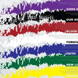 Color of Gospel Wallpaper