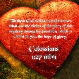 Colossians 1:27 Wallpaper