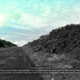Ecclesiastes 10:2-3 Wallpaper