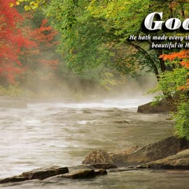Ecclesiastes 3:11a Wallpaper