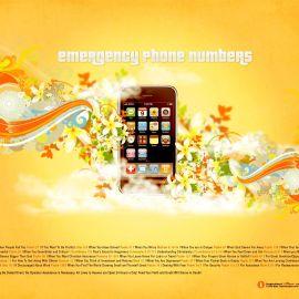Emergency Phone Numbers Wallpaper