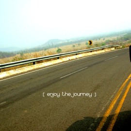 Enjoy the Journey Wallpaper