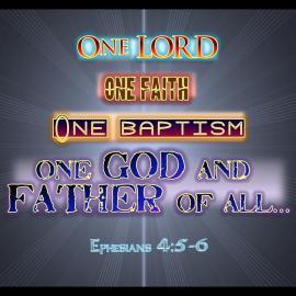 Ephesians 4:5-6 Wallpaper