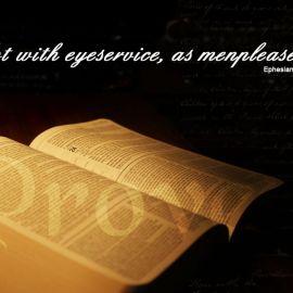 Ephesians 6:6 Wallpaper
