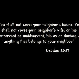 Exodus 20: 17 Wallpaper