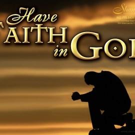 Faith in God Wallpaper