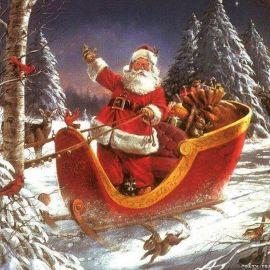 Father Christmas Wallpaper