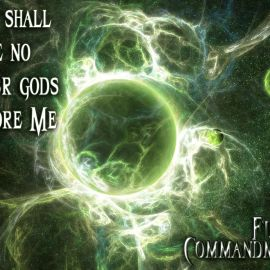 First Commandment Wallpaper