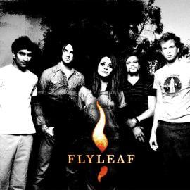 Flyleaf P&B Wallpaper
