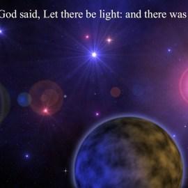 Genesis 1:3 Wallpaper