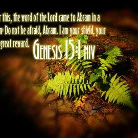 Genesis 15:1 Wallpaper