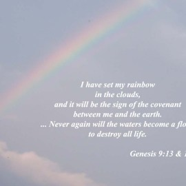 Genesis 9:13 & 15 Wallpaper