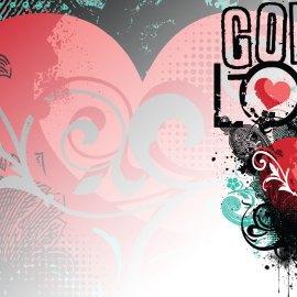 God is Love Wallpaper