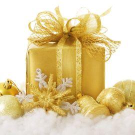 Golden Gift Wallpaper