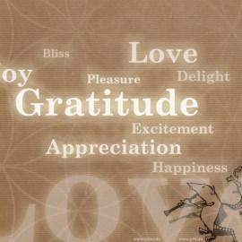 Gratitude Wallpaper