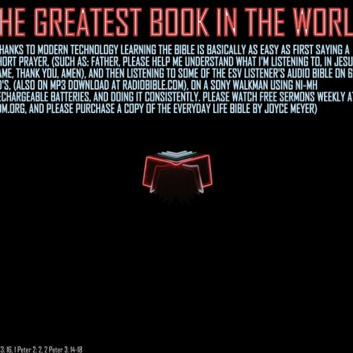 Greatest Book christian wallpaper free download. Use on PC, Mac, Android, iPhone or any device you like.