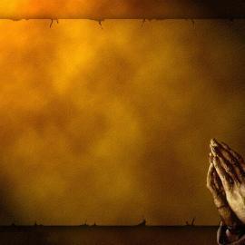 Hands & Prayer Wallpaper