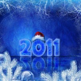 Happy New Year – 3D Wallpaper
