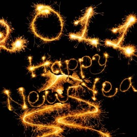 Happy New Year – At Night Wallpaper