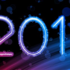 Happy New Year – Colorful Wallpaper