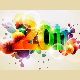 Happy New Year – Colors Wallpaper