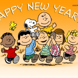 Happy New Year – Snoopy Wallpaper
