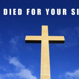 He Died For Your Sins Wallpaper