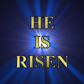 He Is Risen Wallpaper