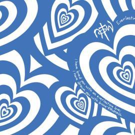 Heart blue Wallpaper