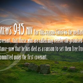 Hebrews 9:15 Wallpaper
